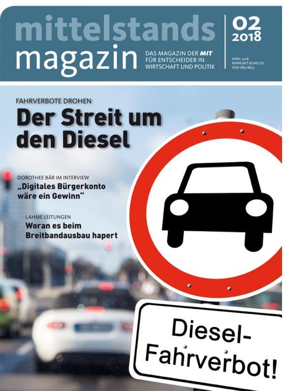 Mittelstandsmagazin, Ausgabe 2/2018